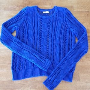 Abercrombie & Fitch crochet sweater